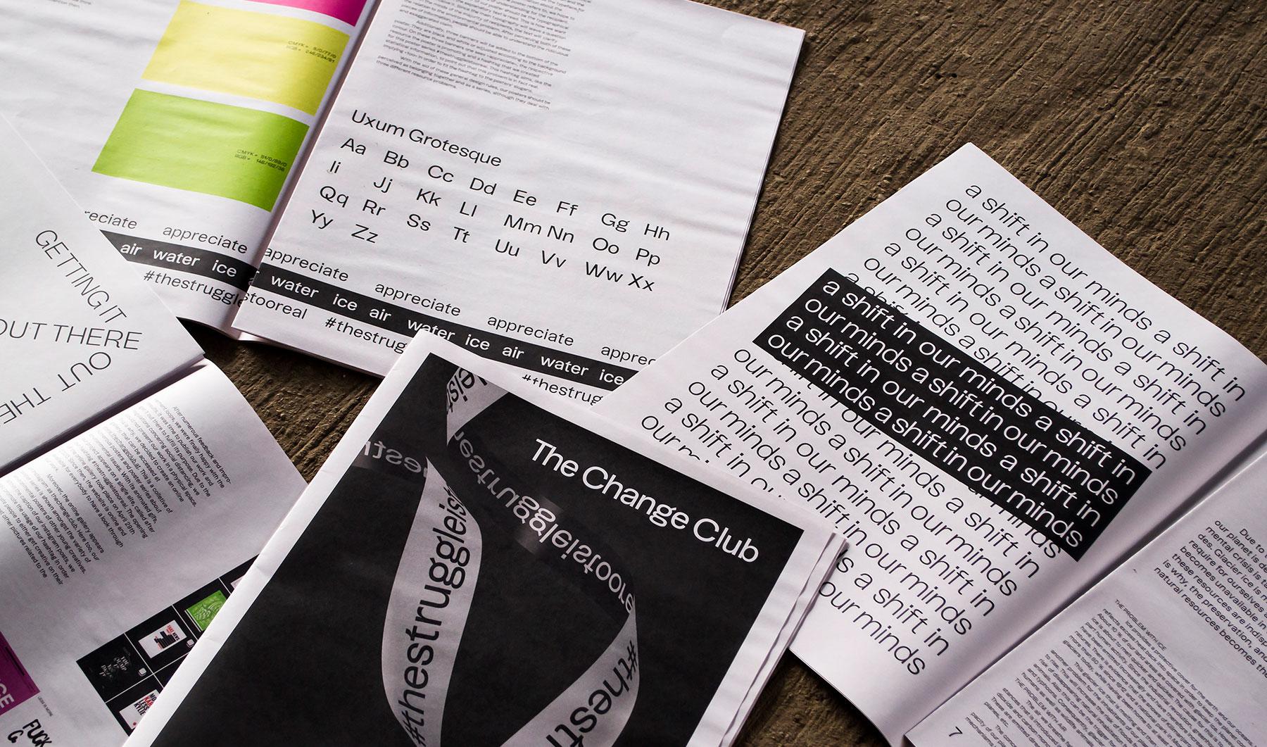 editorial design Gloria Gietl